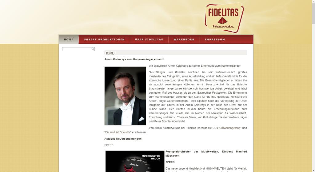 Fidelitas-Records